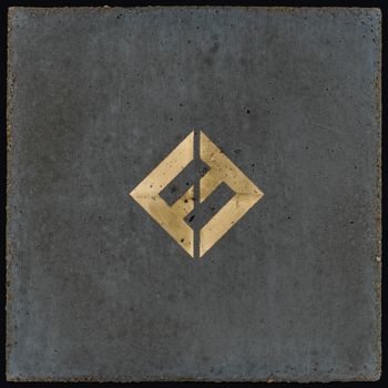 FOO FIGHTERS : CONCRETE & GOLD (CD)
