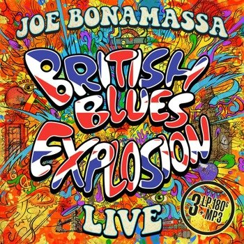 JOE BONAMASSA: BRITISH BLUES EXPLOSION (3LP VINYL)