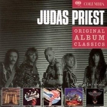 JUDAS PRIEST : ORYGINAL ALBUM CLASSICS (5CD)