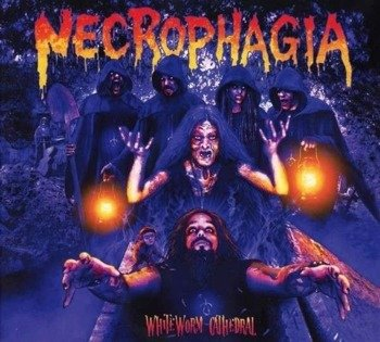 NECROPHAGIA: WHITEWORM CATHEDRAL (CD) DIGIPACK