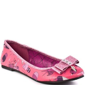 balerinki IRON FIST - DEMON DONKEY FLAT (PINK)