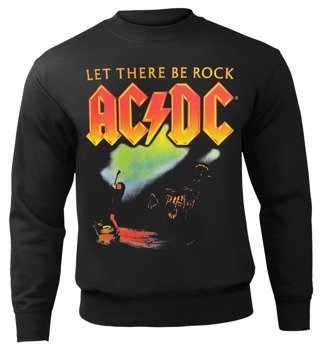 bluza AC/DC - LET THERE BE ROCK, bez kaptura