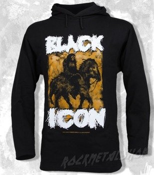 bluza BLACK ICON - HORSEMAN OF APOCALYPSE czarna z kapturem (BICON030)
