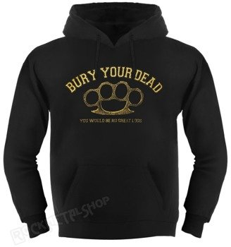 bluza BURY YOUR DEAD - BRASS KNUCKLES, kangurka z kapturem