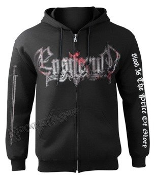 bluza ENSIFERUM - BLOOD IS THE PRICE OF GLORY,rozpinana z kapturem