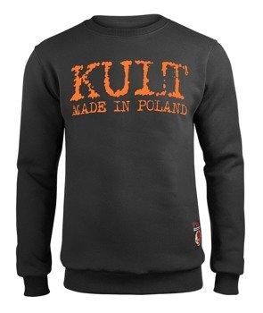 bluza KULT - MADE IN POLAND, czarna, bez kaptura