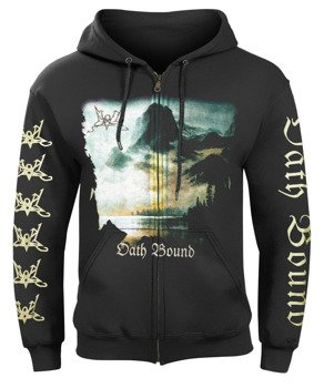 bluza SUMMONING - OATH BOUND, rozpinana z kapturem