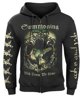 bluza SUMMONING - WITH DOOM WE COME, rozpinana z kapturem