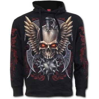 bluza z kapturem MACED SKULL