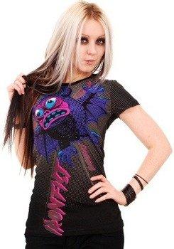 bluzka damska IRON FIST - BATTY BOI (BLACK)