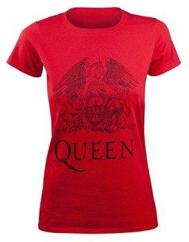 bluzka damska QUEEN - LOGO RED