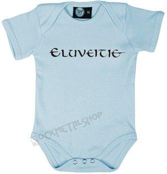 body dziecięce  ELUVEITIE - LOGO błękitne