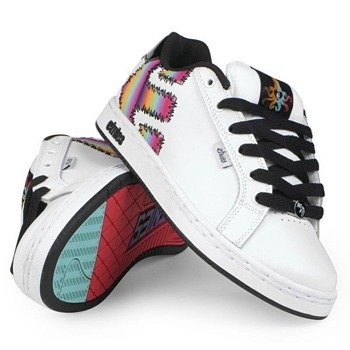 buty damskie ETNIES - FADER (WHITE/BLACK/YELLOW)