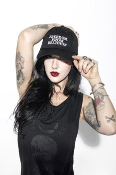 czapka BLACK CRAFT - BORN FREE