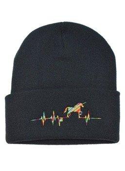 czapka zimowa DARKSIDE - UNICORN HEARTBEAT