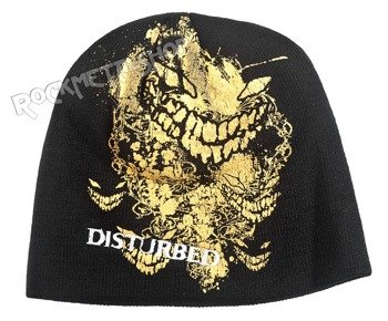 czapka zimowa DISTURBED - SPLATTER FACE