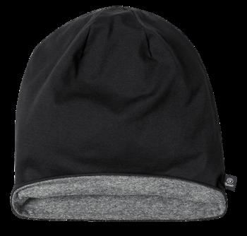 czapka zimowa JERSEY BICOLOR BLACK ANTHRACITE