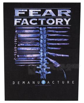 ekran FEAR FACTORY - DEMANUFACTURE