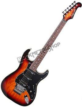 gitara elektryczna J&D BROTHERS sunburst ST3AF/SB