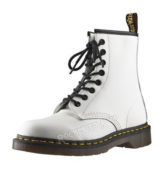 glany DR. MARTENS - DM 1460 WHITE SMOOTH (DM10072100)