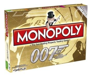 gra planszowa JAMES BOND 007 MONOPOLY, English Version