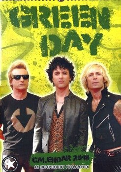 kalendarz GREEN DAY 2018