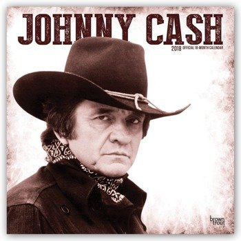 kalendarz JOHNNY CASH 2018