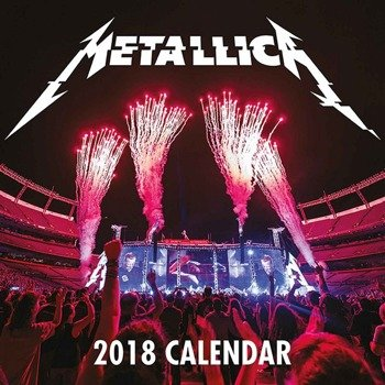 kalendarz METALLICA HARDWIRED LIVE 2018