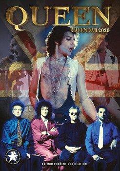 kalendarz QUEEN 2020