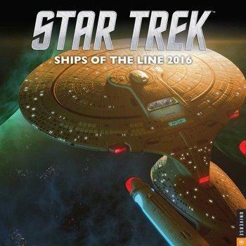 kalendarz STAR TREK 2017