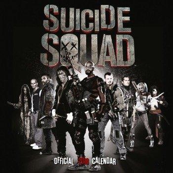 kalendarz SUICIDE SQUAD 2018
