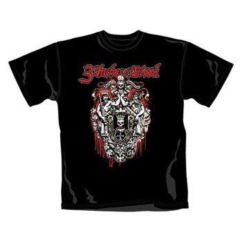 koszulka 3 INCHES OF BLOOD - LOGO  (2177TSBP)
