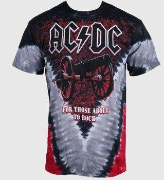 koszulka AC/DC - CANNON V DYE, barwiona