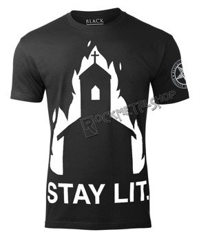 koszulka BLACK CRAFT - STAY LIT