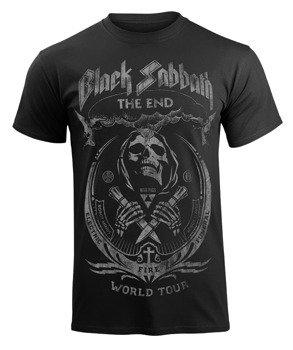 koszulka BLACK SABBATH - THE END MUSHROOM CLOUD