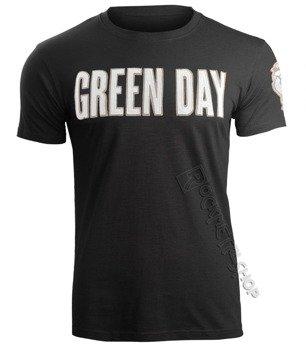 koszulka GREEN DAY - LOGO AND GRENADE