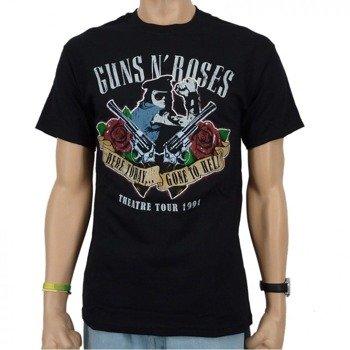 koszulka GUNS N' ROSES - HERE TODAY GONE TO HELL