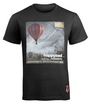 koszulka HAPPYSAD - NIEPRZYGODA czarna (VINYL EDITION)