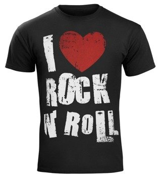 koszulka I LOVE ROCK AND ROLL
