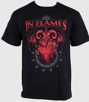 koszulka IN FLAMES - BAPHOMET JESTERHEAD