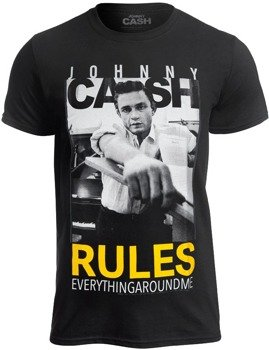koszulka JOHNNY CASH - RULES EVERYTHING