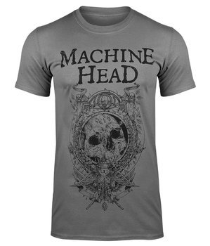 koszulka MACHINE HEAD - CLOCK szara