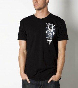 koszulka METAL MULISHA - ARMED SOCIETY czarna