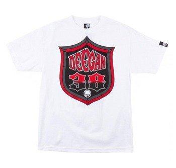 koszulka METAL MULISHA - DEEGAN SHIELD biała