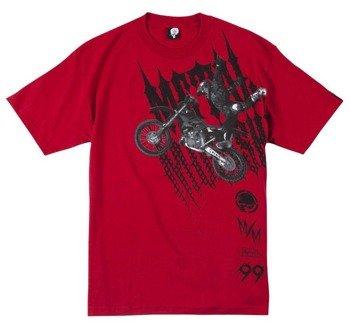 koszulka METAL MULISHA - JUMPER czerwona