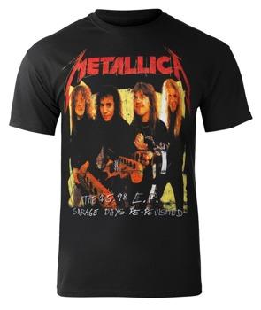 koszulka METALLICA - GARAGE PHOTO YELLOW BLACK