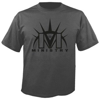 koszulka MINISTRY - LOGO szara
