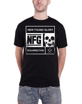 koszulka NEW FOUND GLORY - BLOCKED