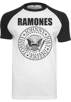 koszulka RAMONES - CIRCLE raglan