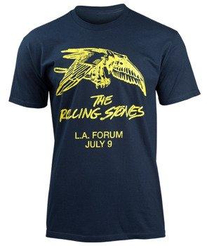koszulka ROLLING STONES - L.A. FRIDAY granatowa